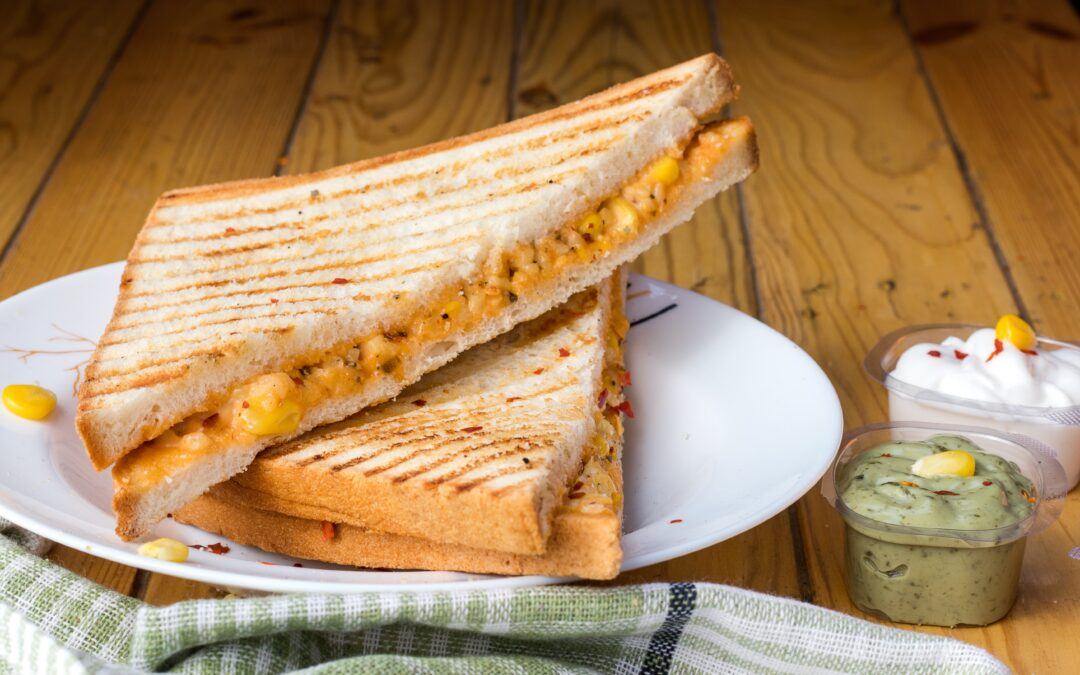 Soup and grilled cheese make the perfect lunch