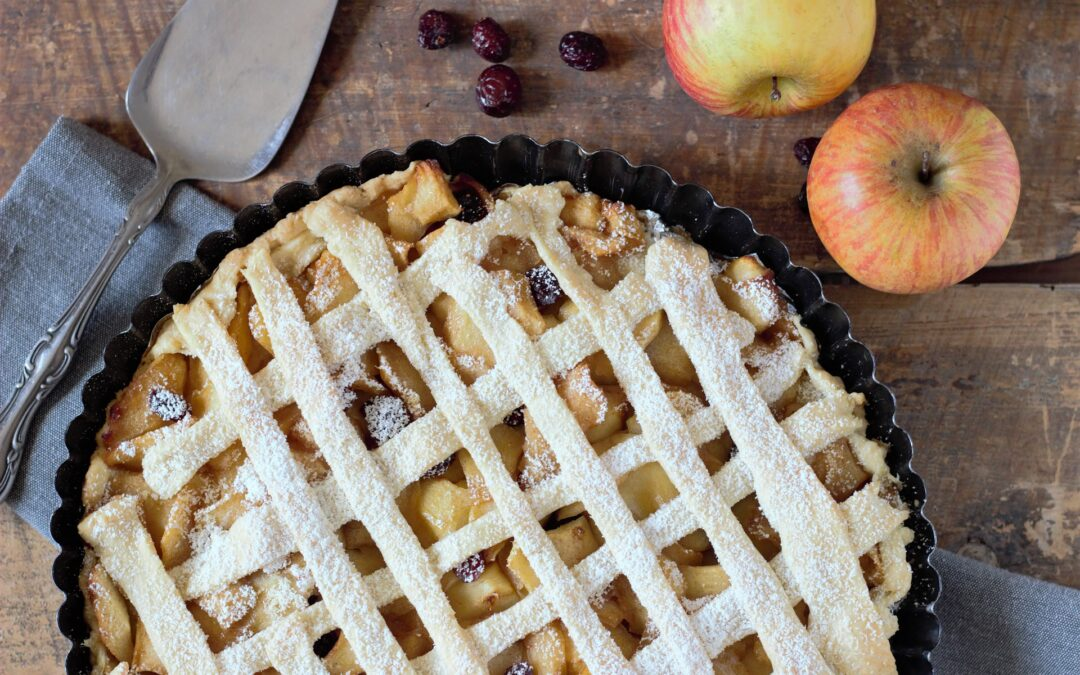 It's always the right time of year for fresh apple pie